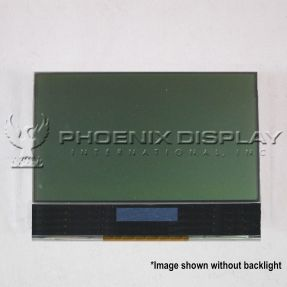 "0.70"" 80x48 Graphic LCD Display"