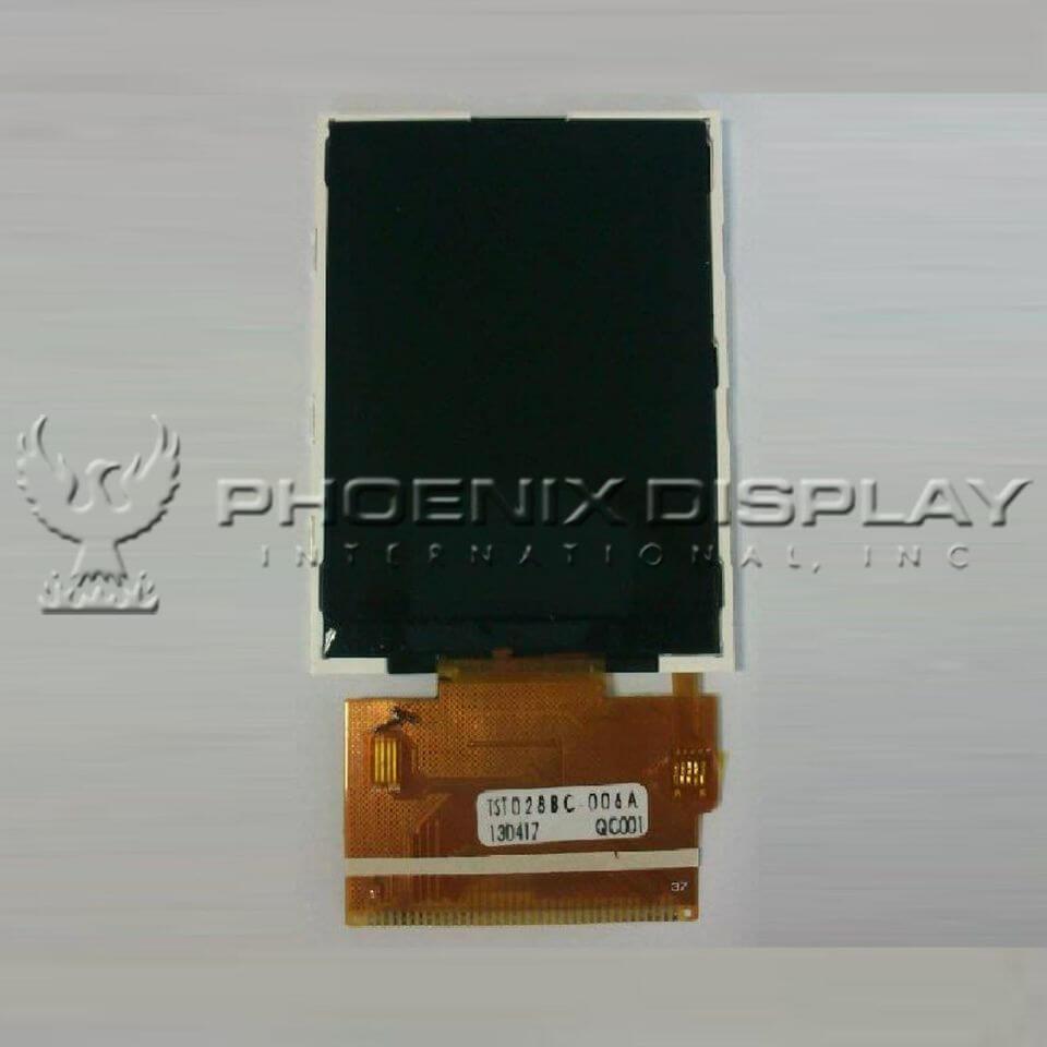2.8 240 x 320 Transmissive Color TFT Display | PDI28011T-00 | Phoenix Display International