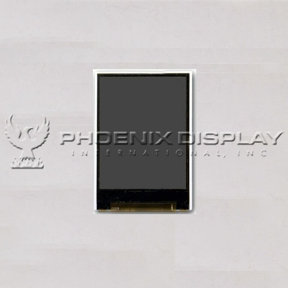 2.6 240 x 400 Transmissive Color TFT Display | PDI2404009G(R)-KTCL1-V12 | Phoenix Display International