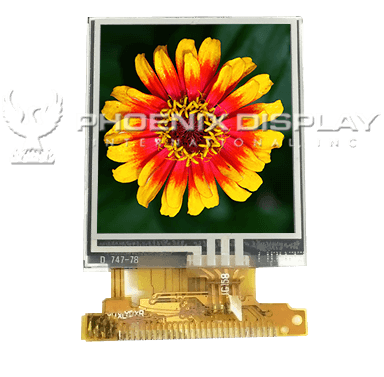 1.44 128 x 128 Transmissive Color TFT Display | PDI144011CPIL-P | Phoenix Display International