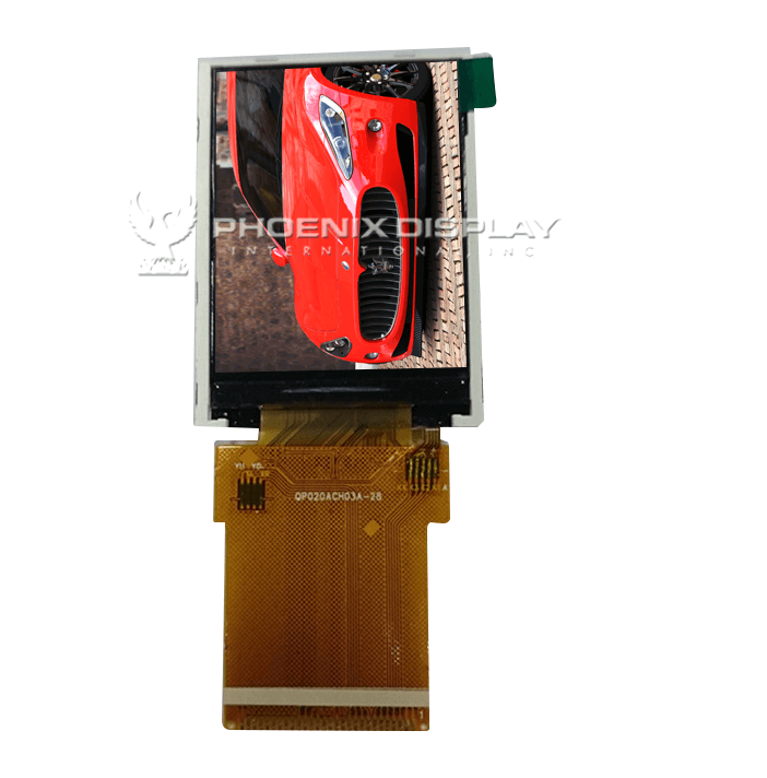 2.0 240 x 320 Transmissive Color TFT Display | PDI020ACH03-28G | Phoenix Display International