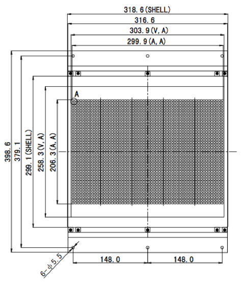 14.30 inch 58 x 40 Graphic LCD Display